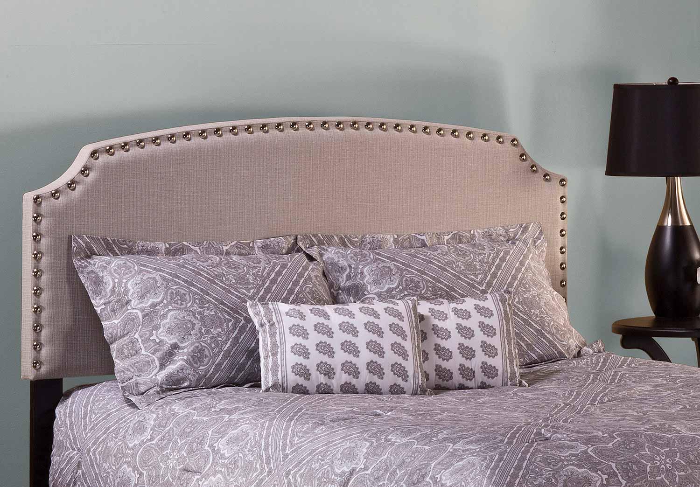 Hillsdale Lani Headboard - Light Linen/Grey