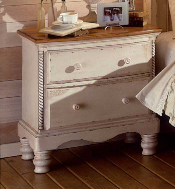 Hillsdale Wilshire Night Stand Antique White 1172 771