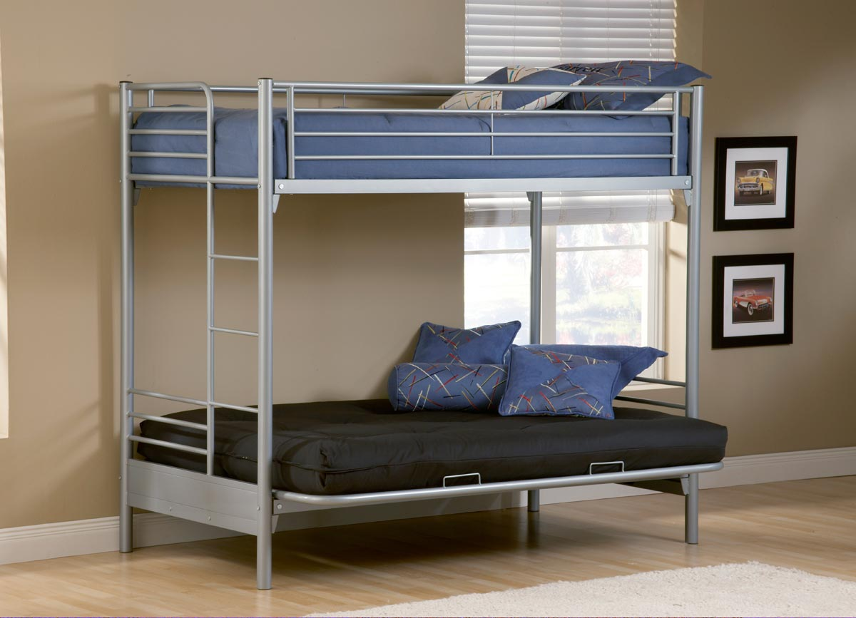 Hilale Universal Youth Twin Futon Bunk Bed 1178 015 016