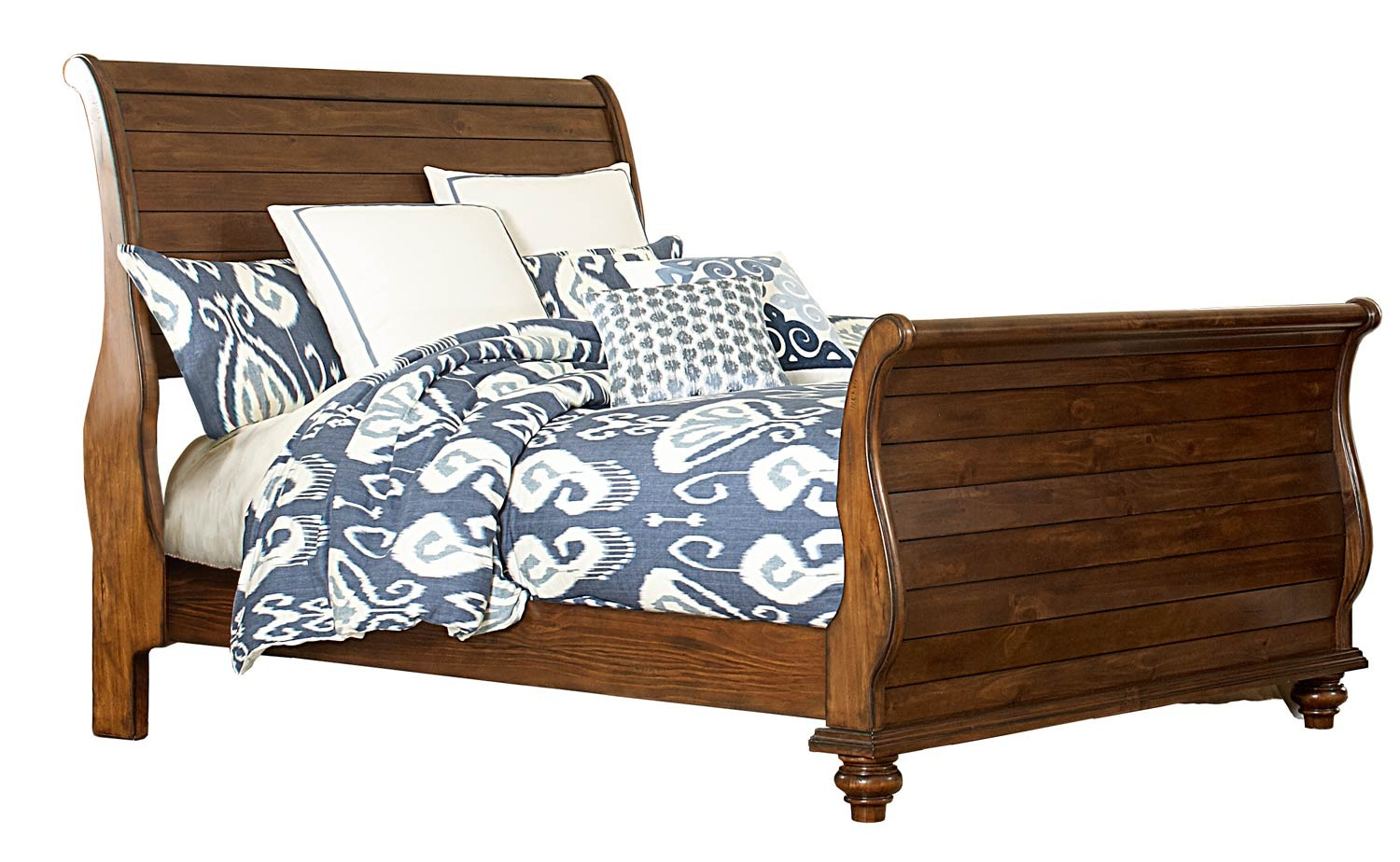 hillsdale pine island post bedroom set dark pine 1215 post bed set