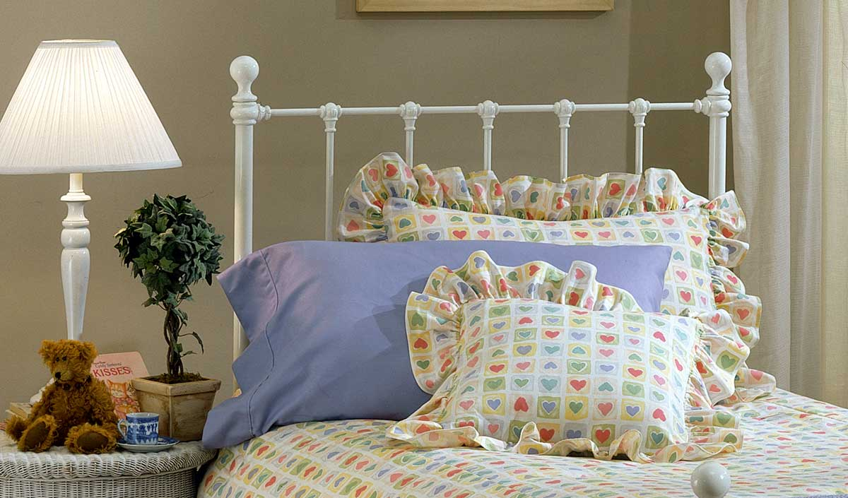 Hillsdale Molly Headboard - White