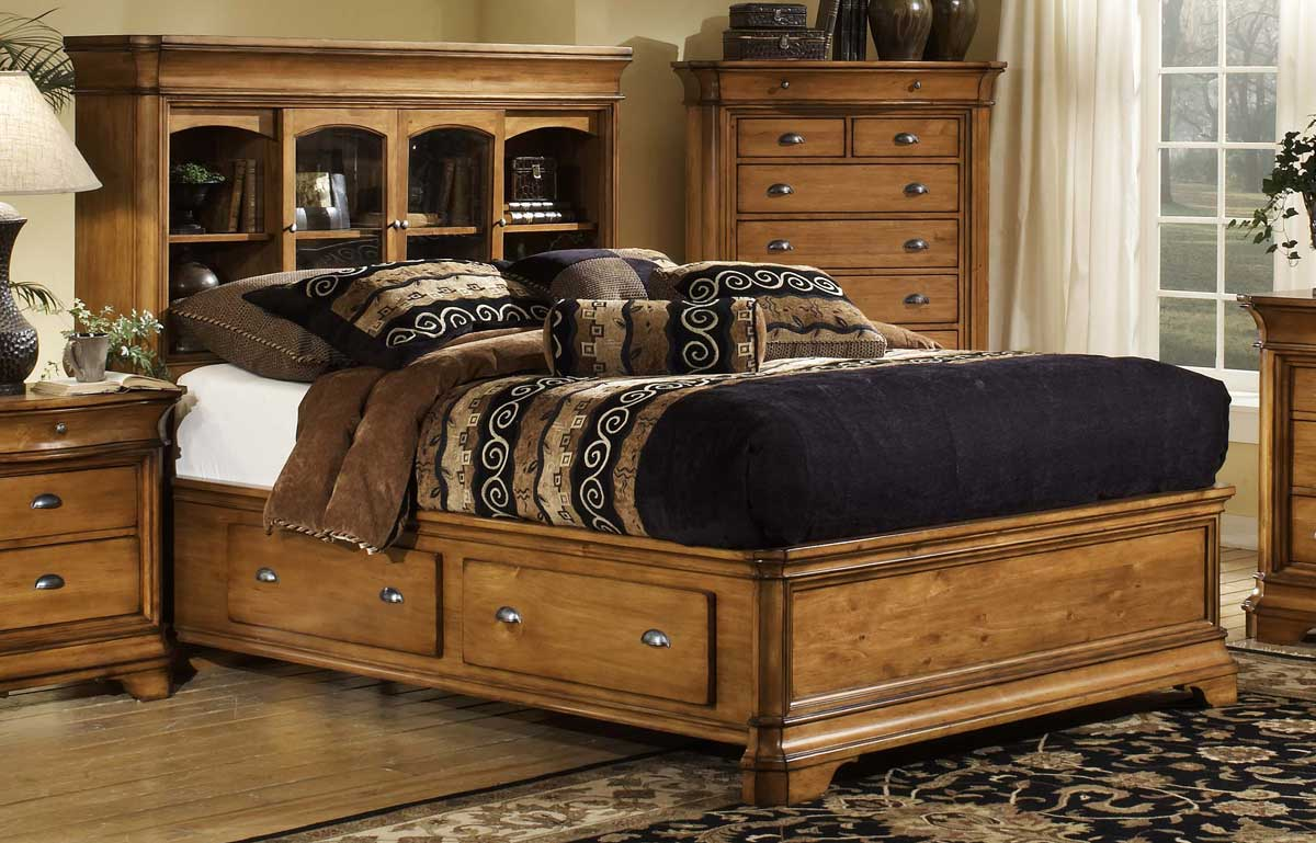 bed barchan with s by co ashley bernie furniture phyl storage bookcase