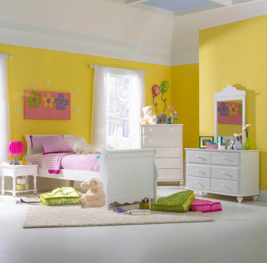 Hillsdale Lauren Sleigh Bedroom Set