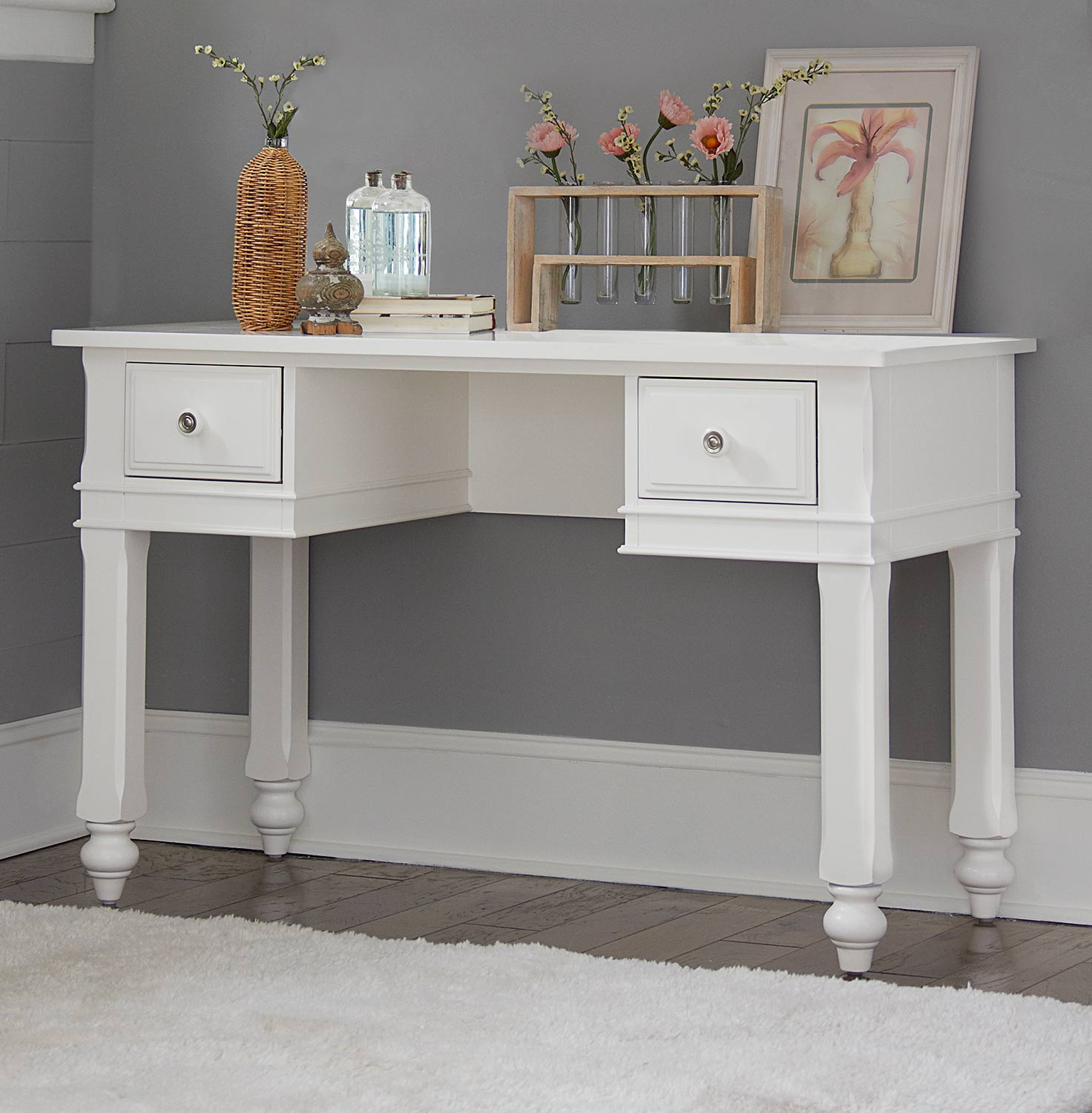 NE Kids Lake House Writing Desk - White