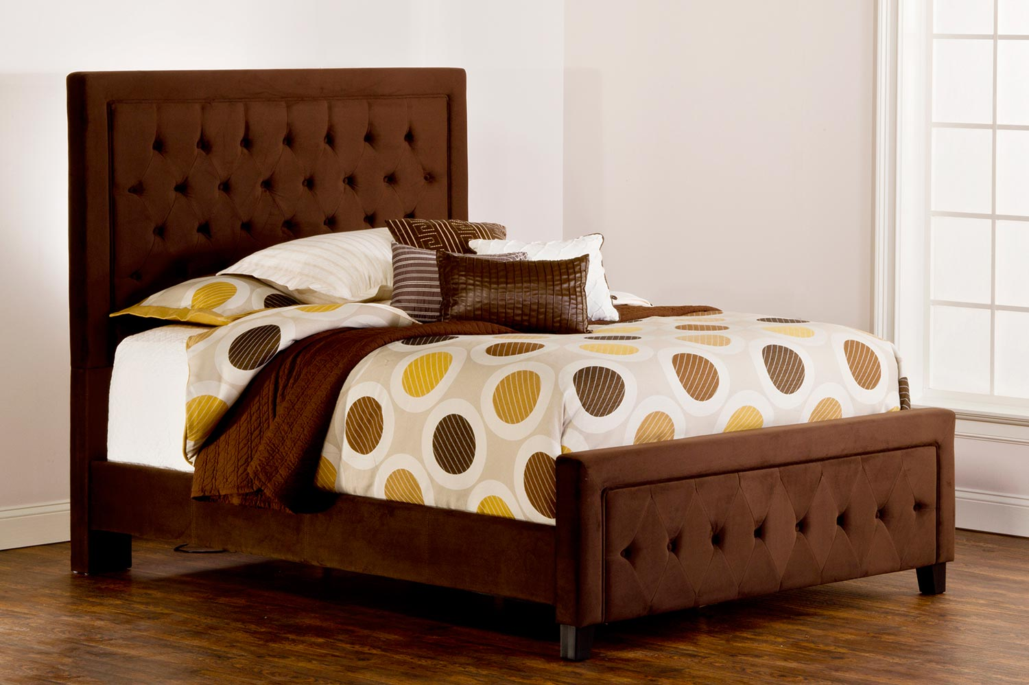 Hillsdale Kaylie Bed - Chocolate