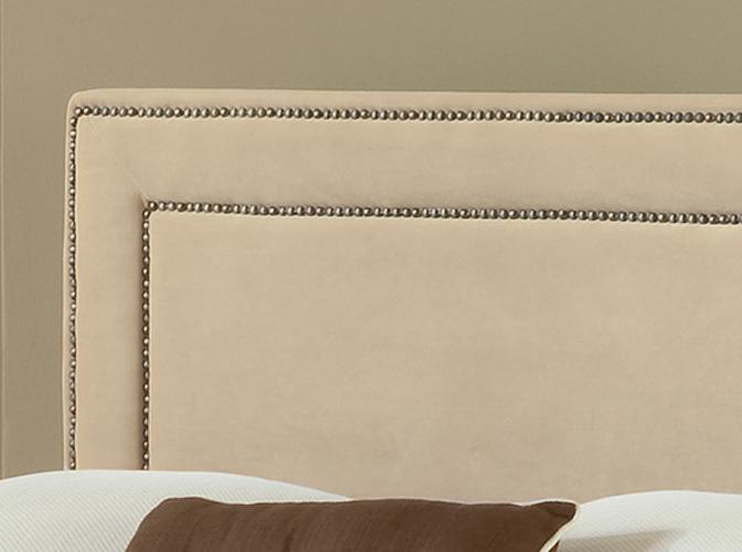 Hillsdale Amber Fabric Headboard - Buckwheat