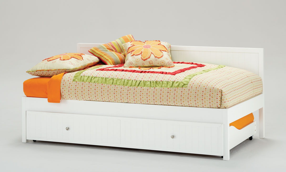 Hillsdale Cody Twin Daybed And Trundle White 1604dbt