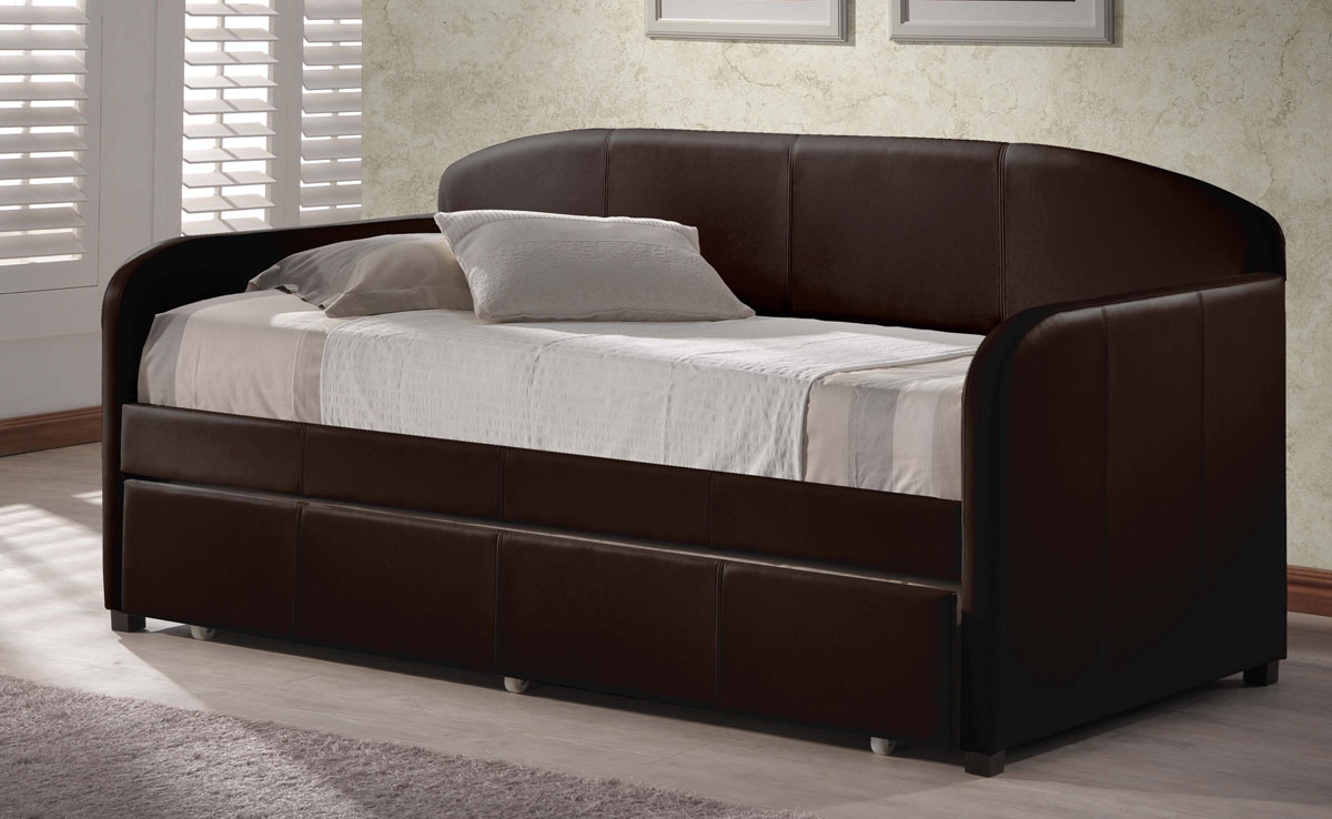 Hillsdale Springfield Daybed With Trundle - Brown