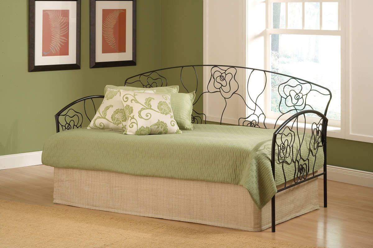 Hillsdale Rose Daybed - Aged Steel