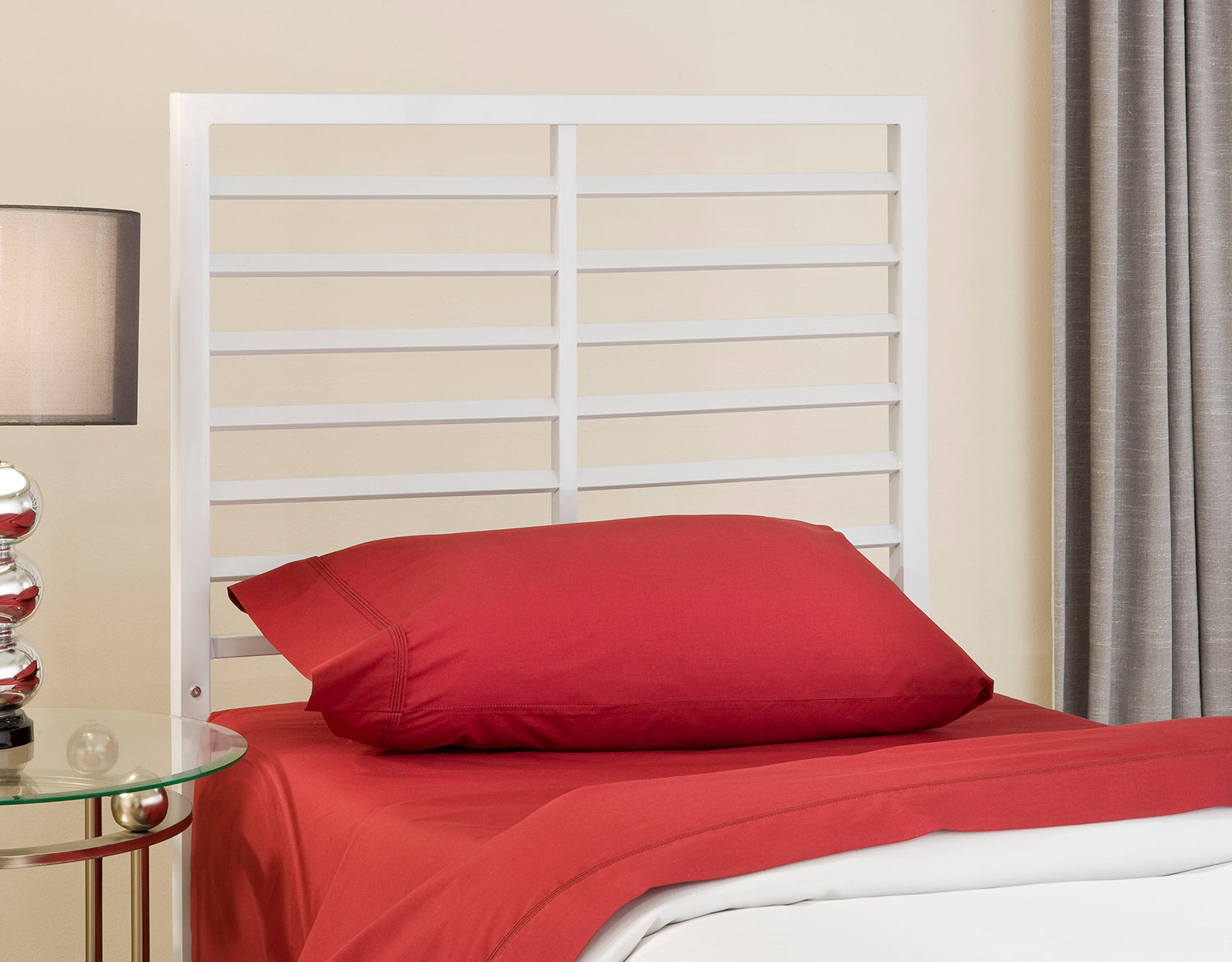 Hillsdale Latimore Twin Bed - White