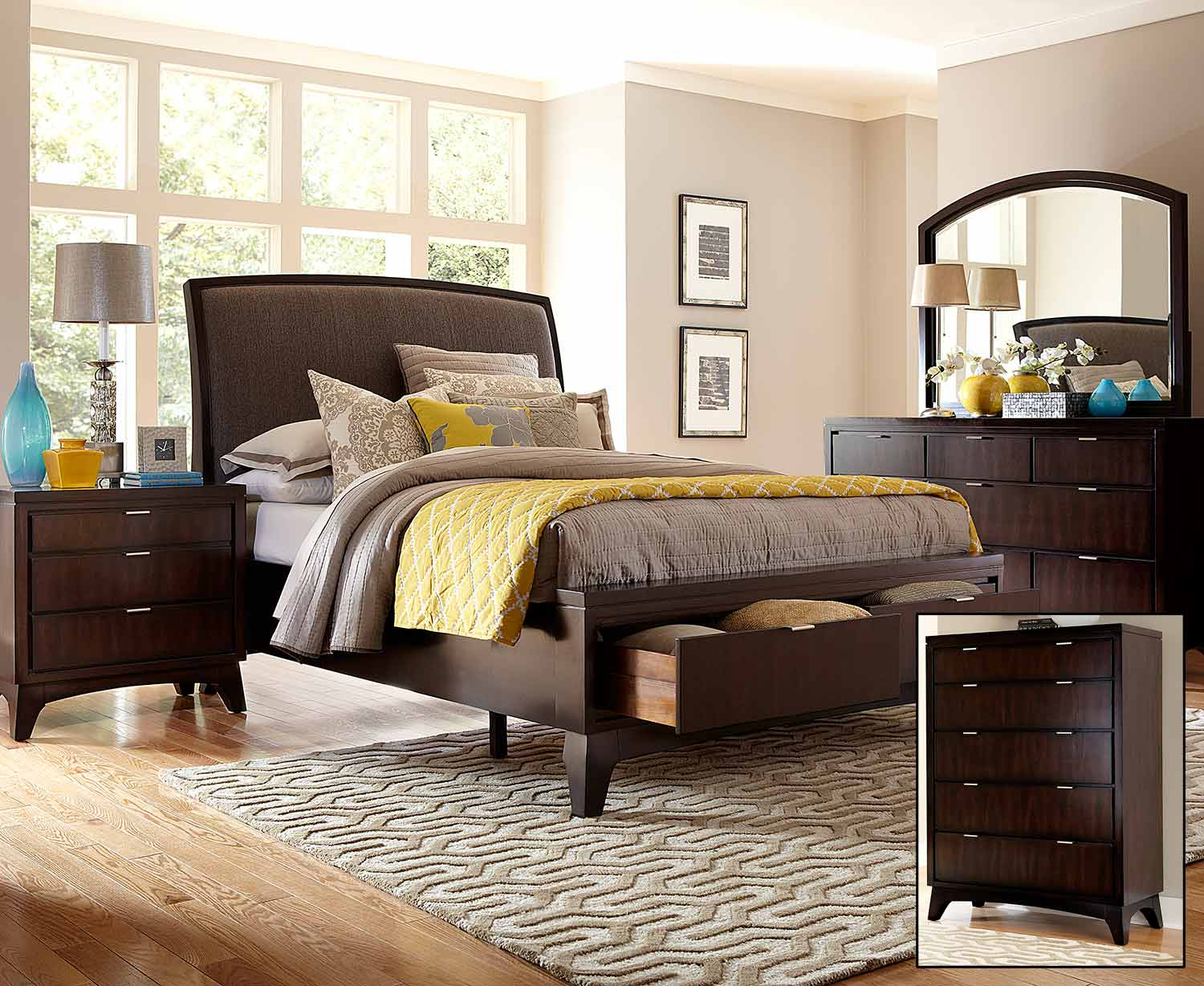 last for amini walnut size king in cortina shop aico edited finish set michael sleigh honey sets by bedroom