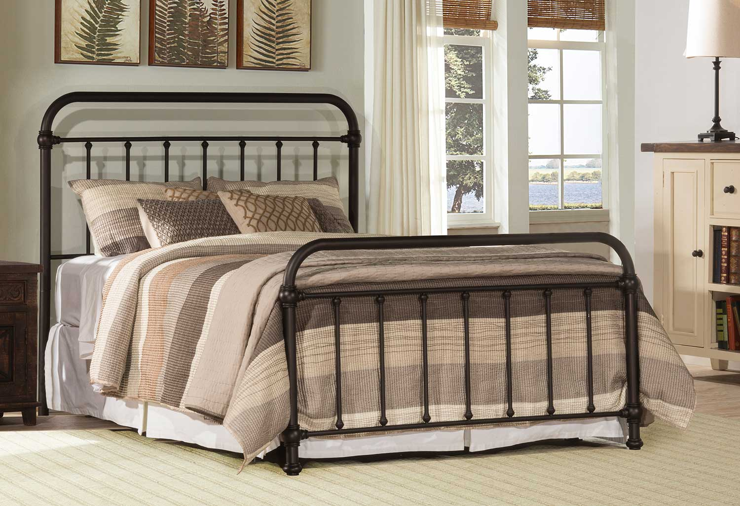 Hillsdale Kirkland Bed - Dark Bronze