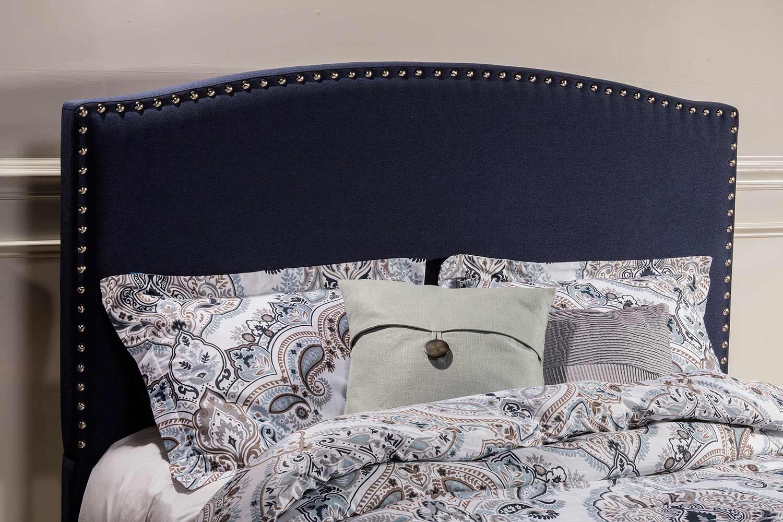 Hillsdale Kerstein Headboard - Navy Linen
