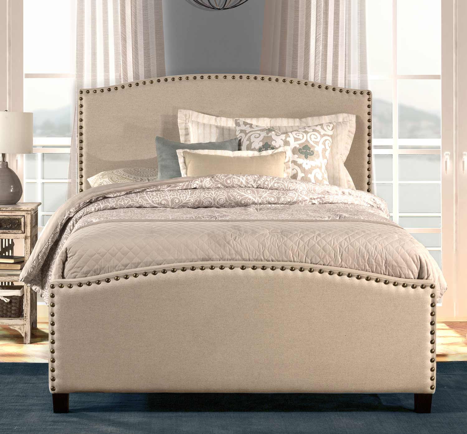 Hillsdale Kerstein Bed - Light Taupe
