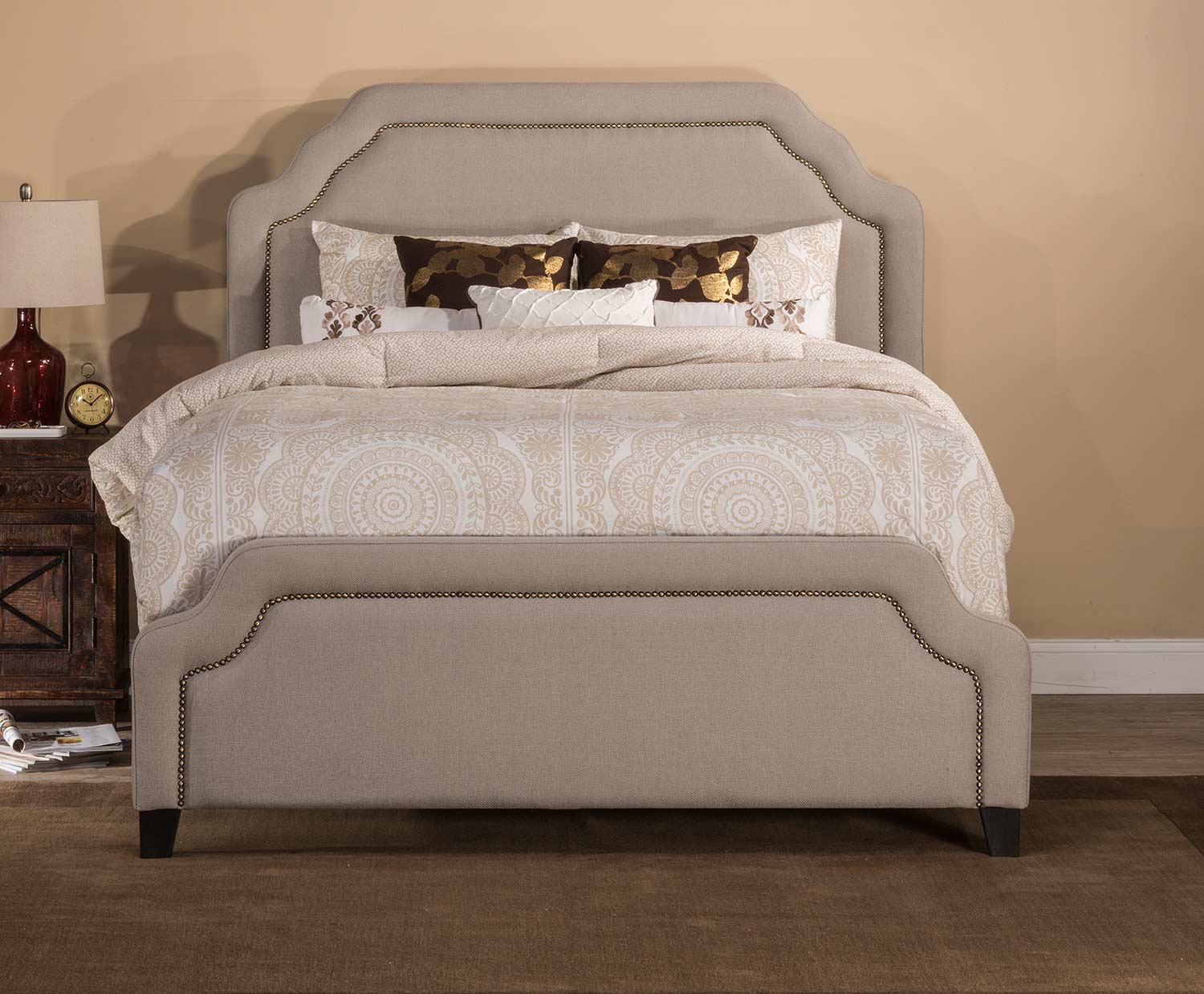 Hillsdale Carlyle Bed - Light Taupe