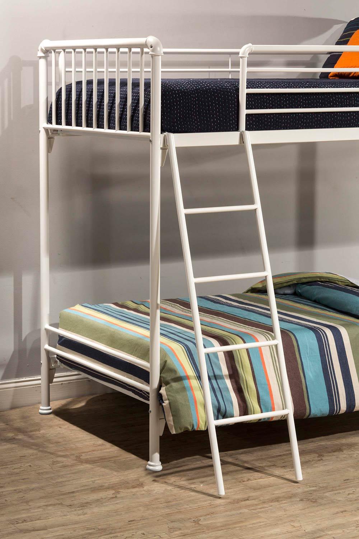 Hillsdale Brandi Twin Size Bunk Bed - White