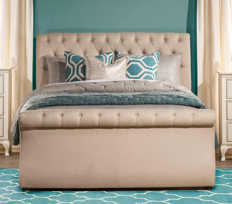 Hillsdale Hunter King Bed - Linen