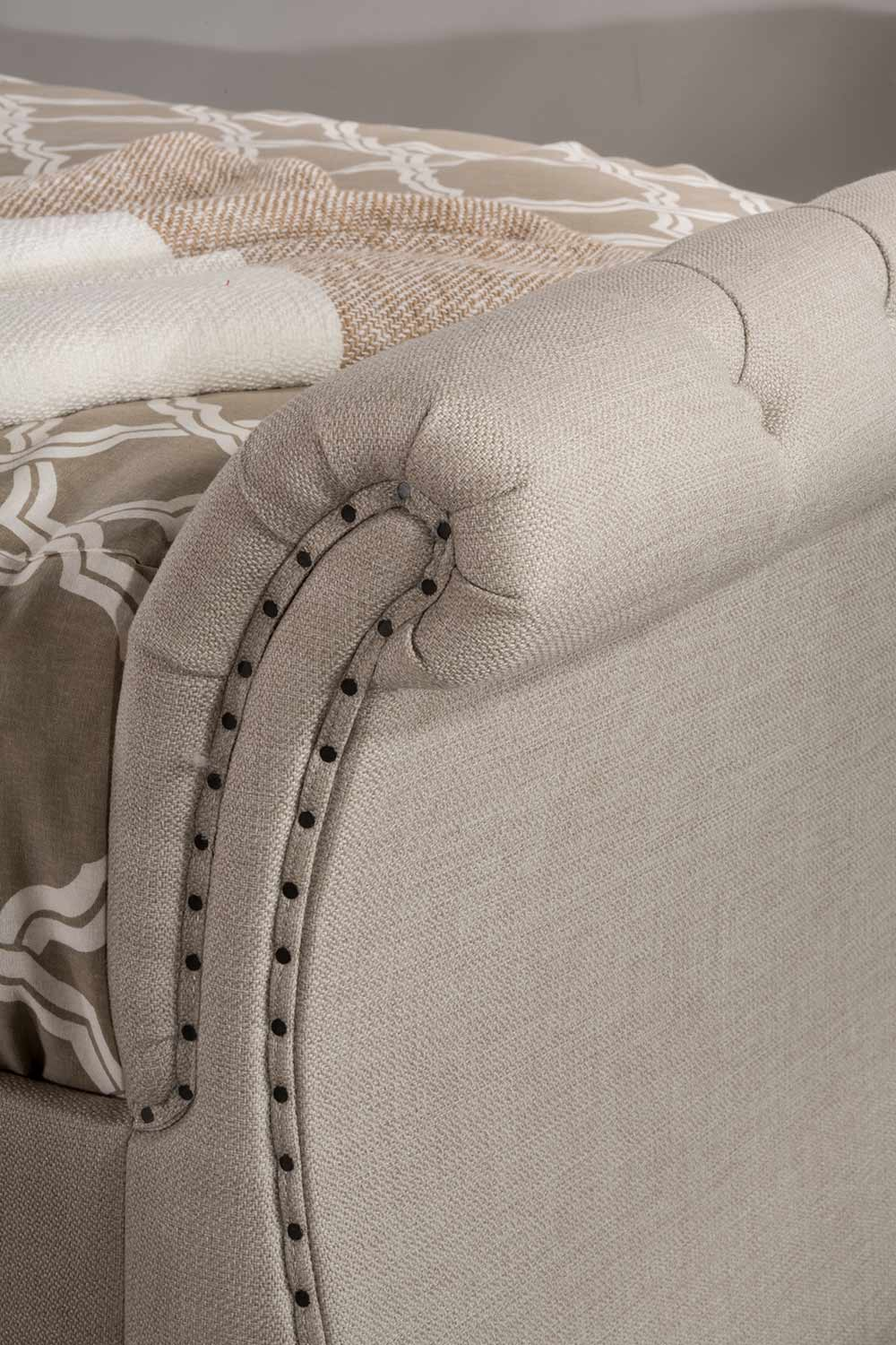 Hillsdale Hunter Backless Daybed - Linen Sandstone