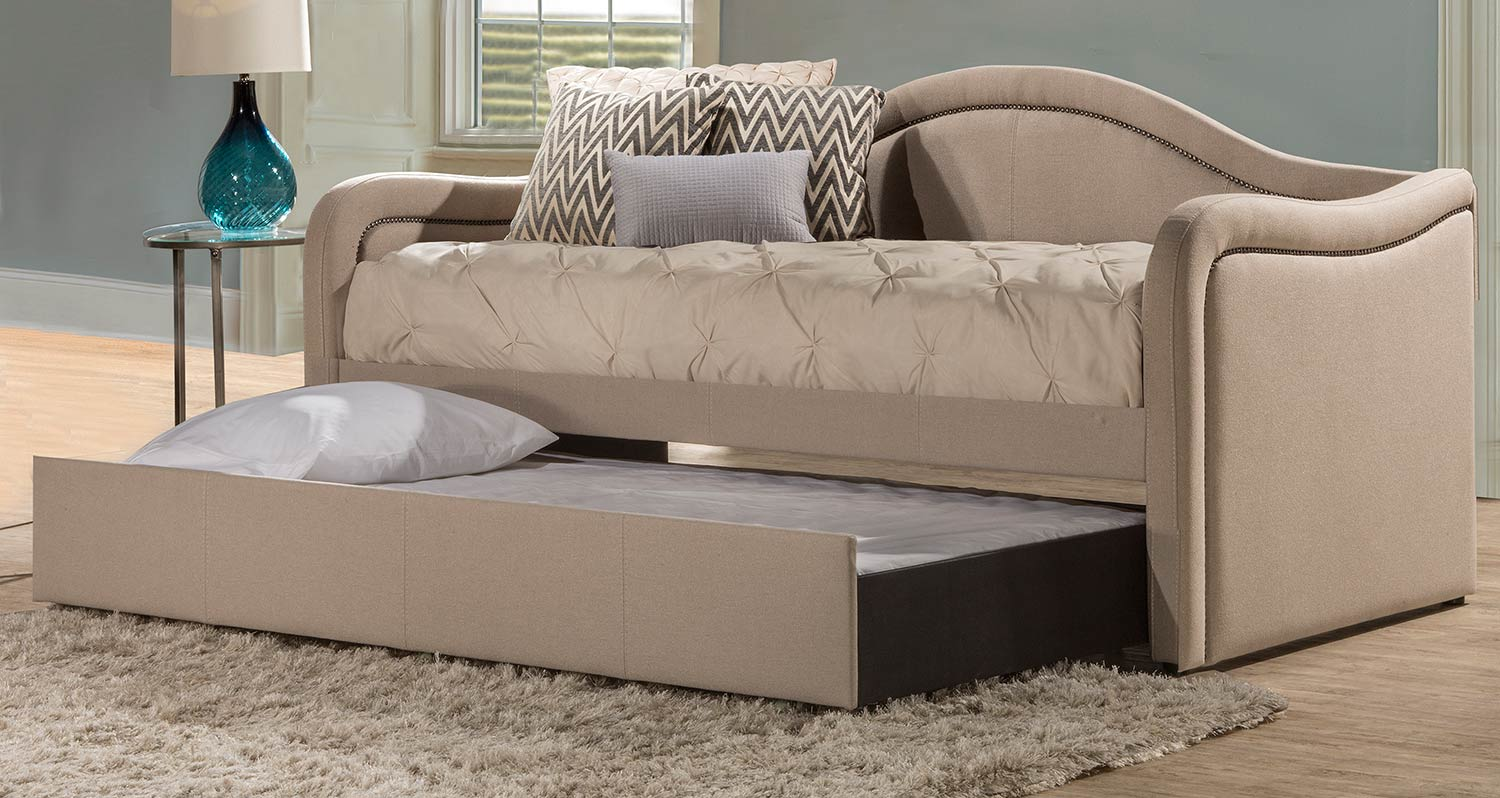 Hillsdale Melbourne Daybed with Trundle - Linen