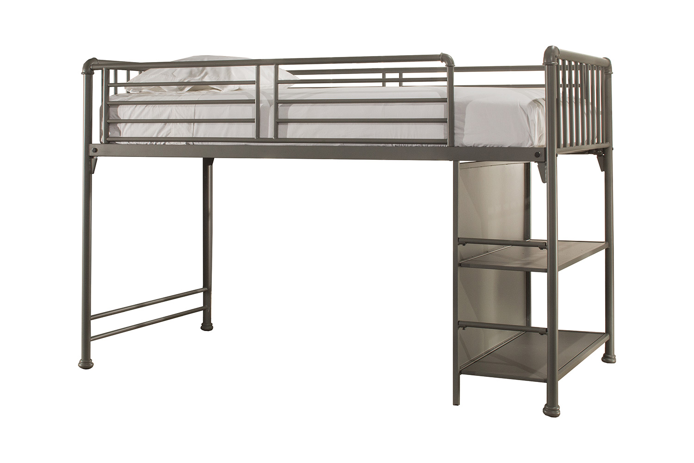 Hillsdale Brandi Junior Loft Bed - Stone