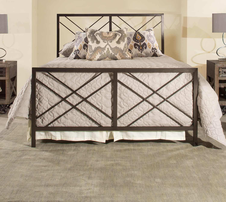 Hillsdale Westlake Metal Bed Magnesium Pewter 2166 Bed Hillsdalefurnituremart Com