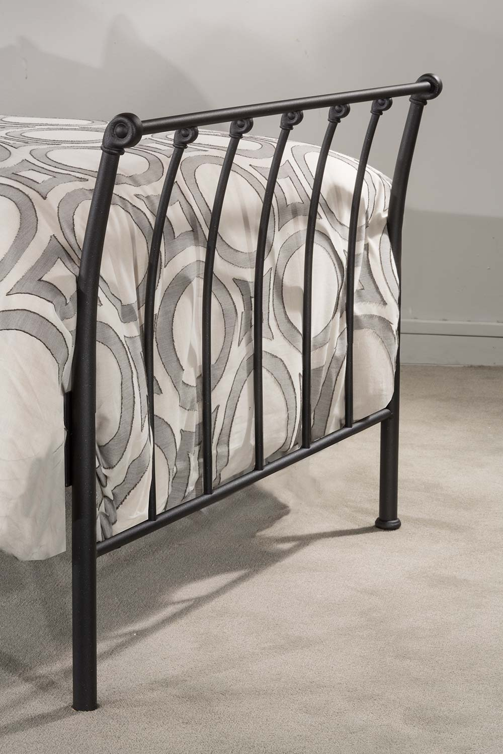 Hillsdale Midland Backless Daybed with Trundle - Black Sparkle