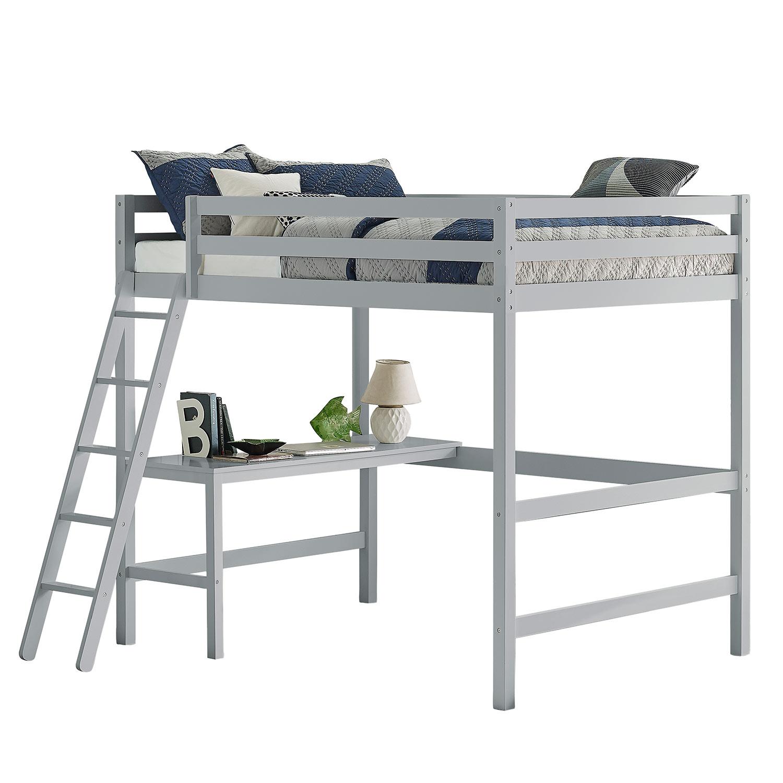 Hillsdale Caspian Full Loft Bed - Gray