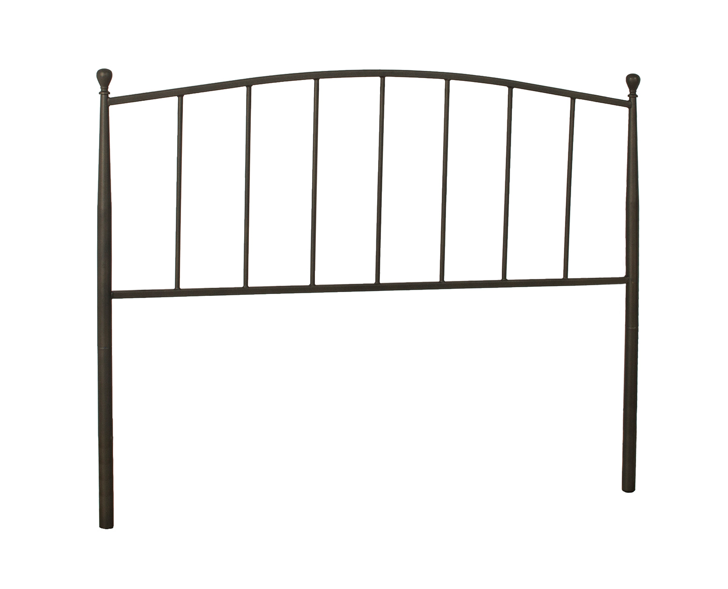 Hillsdale Warwick Metal Headboard with Frame - Gray Bronze