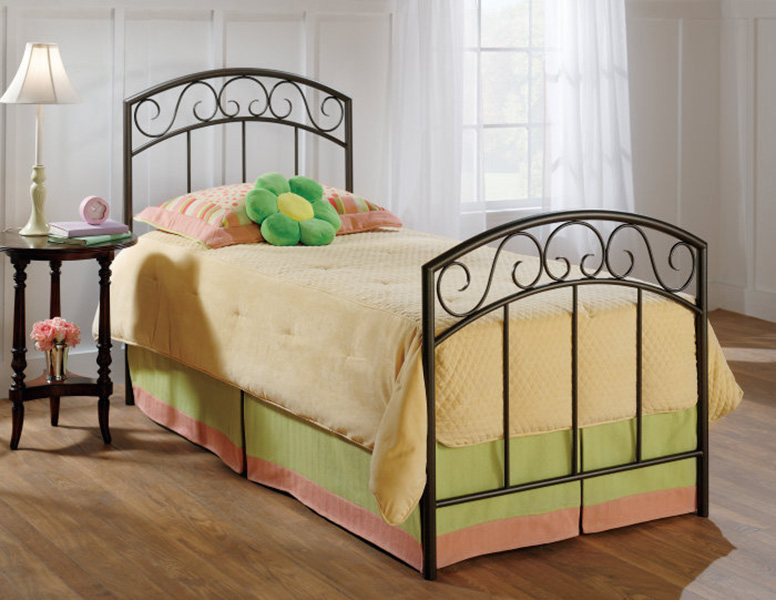Hillsdale Wendell Bed - Copper Pebble