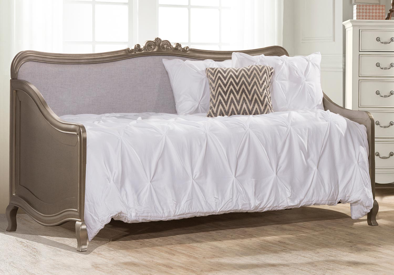 NE Kids Kensington Elizabeth Daybed - Antique Silver