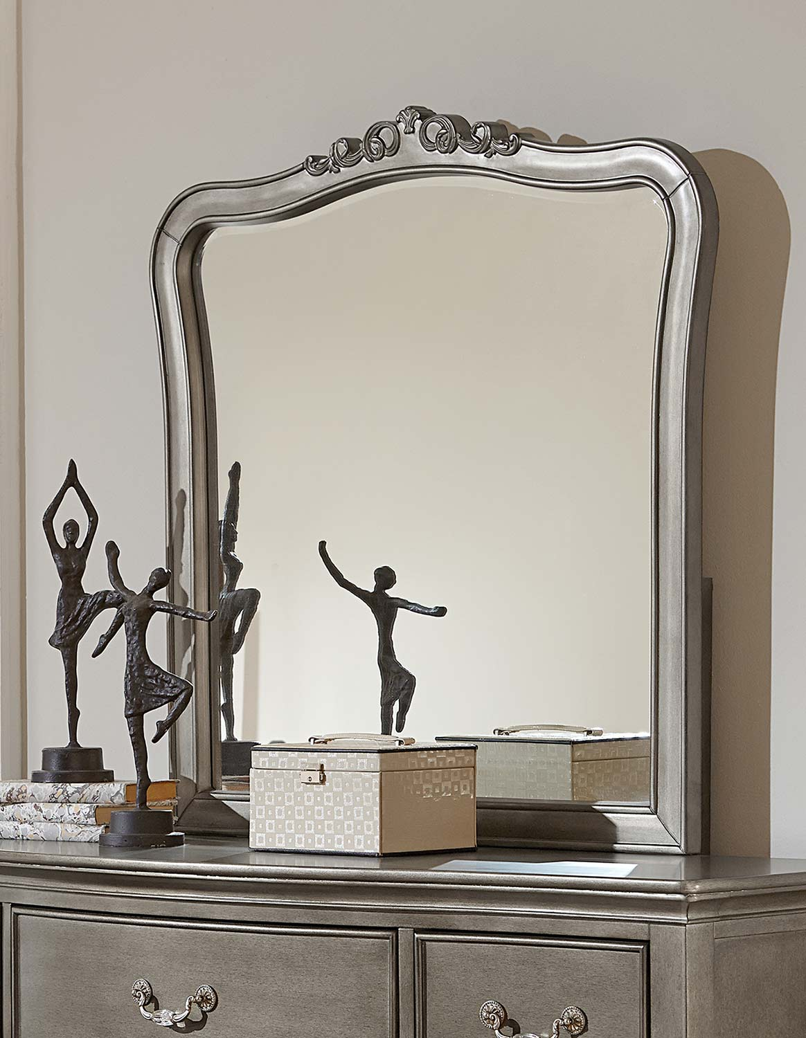 NE Kids Kensington Mirror - Antique Silver
