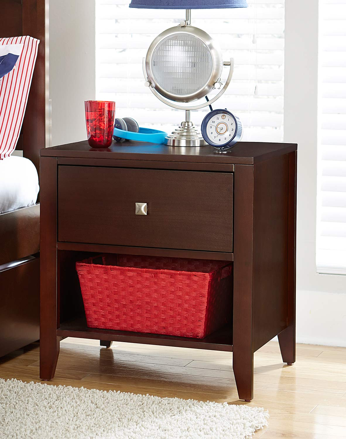 NE Kids Pulse Nightstand - Cherry
