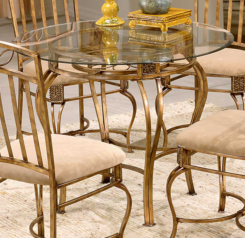 Hillsdale Scottsdale Round Dining Table 40387 40335