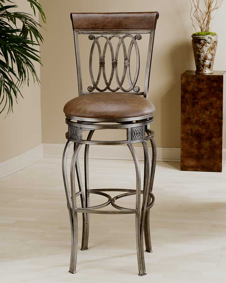 Hillsdale Montello Swivel Bar Stool