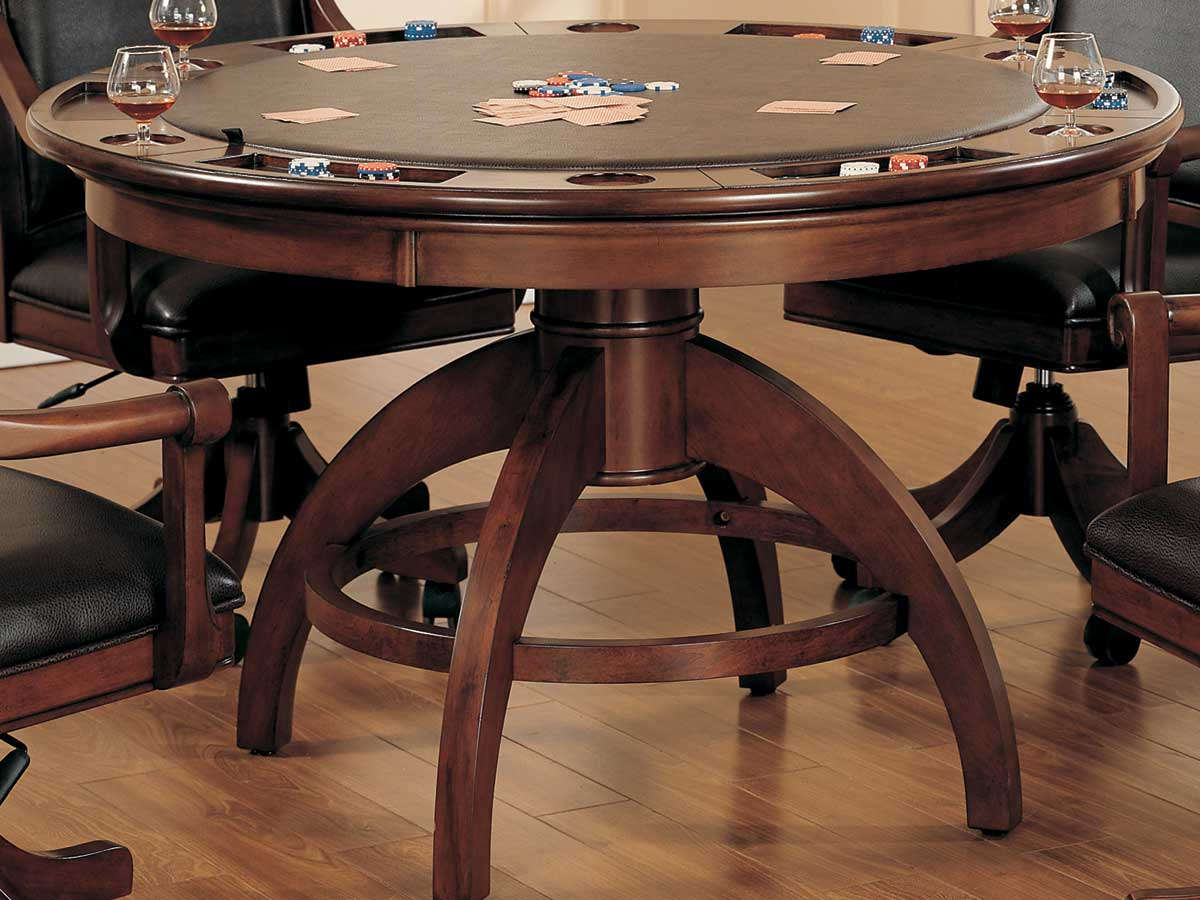 Hillsdale Palm Springs Game Table 4185GTB | HillsdaleFurnitureMart.