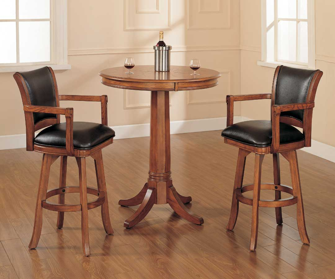 Hillsdale Park View Bistro Table Set 4186ptbs