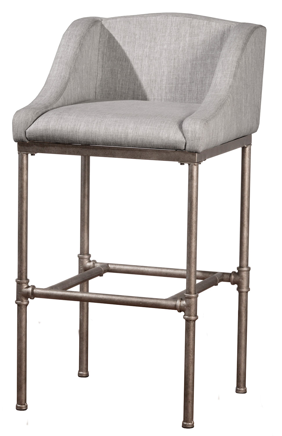 Wondrous Hillsdale Dillon Non Swivel Counter Stool Silver Caraccident5 Cool Chair Designs And Ideas Caraccident5Info