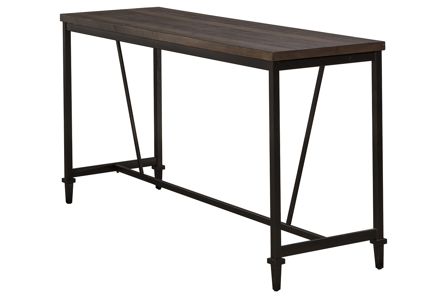 Hillsdale Trevino Counter Height Table - Walnut/Brown