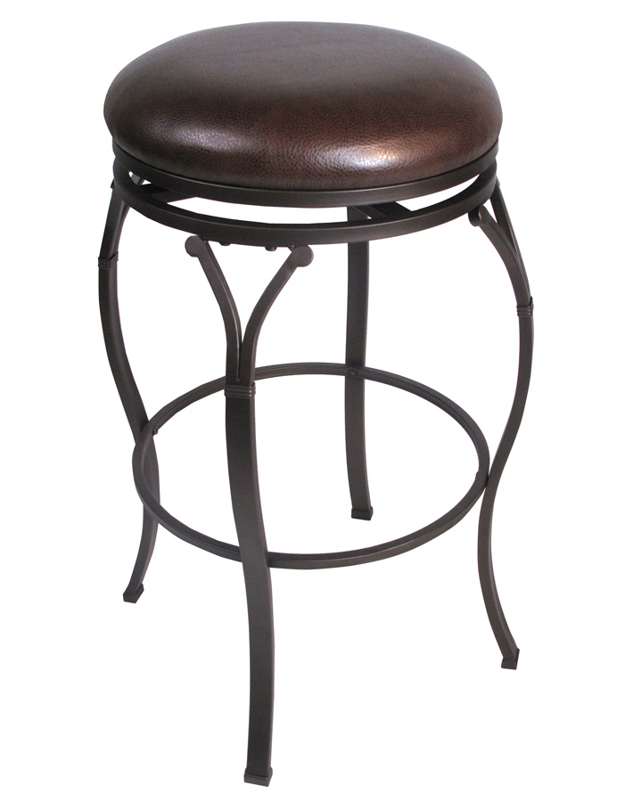Hillsdale Lakeview Backless Swivel Counter Stool