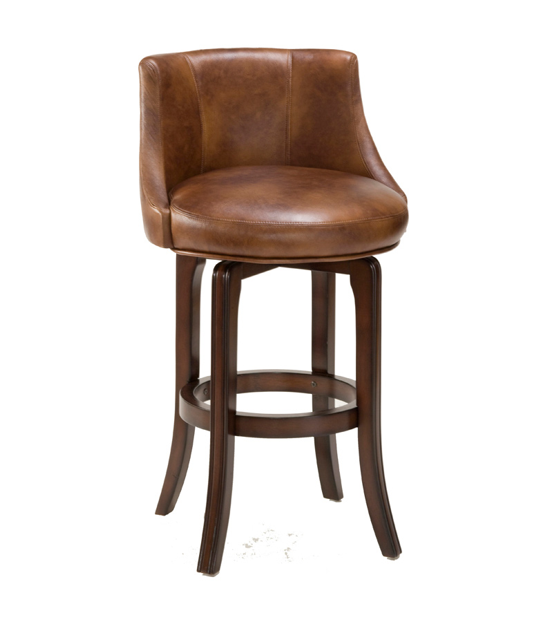 Hillsdale Napa Valley Swivel Counter Stool Antique Brown
