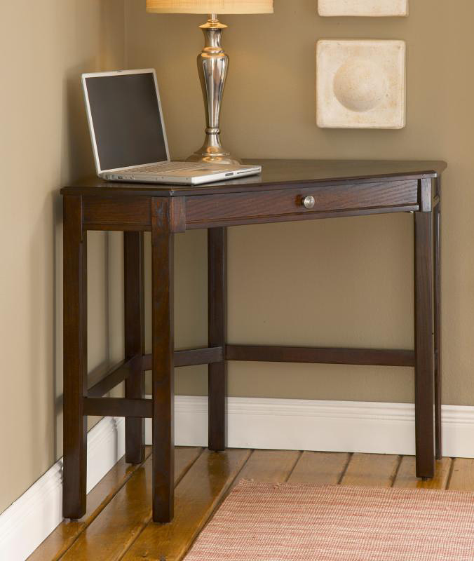 Hillsdale Solano Corner Desk Set - Cherry
