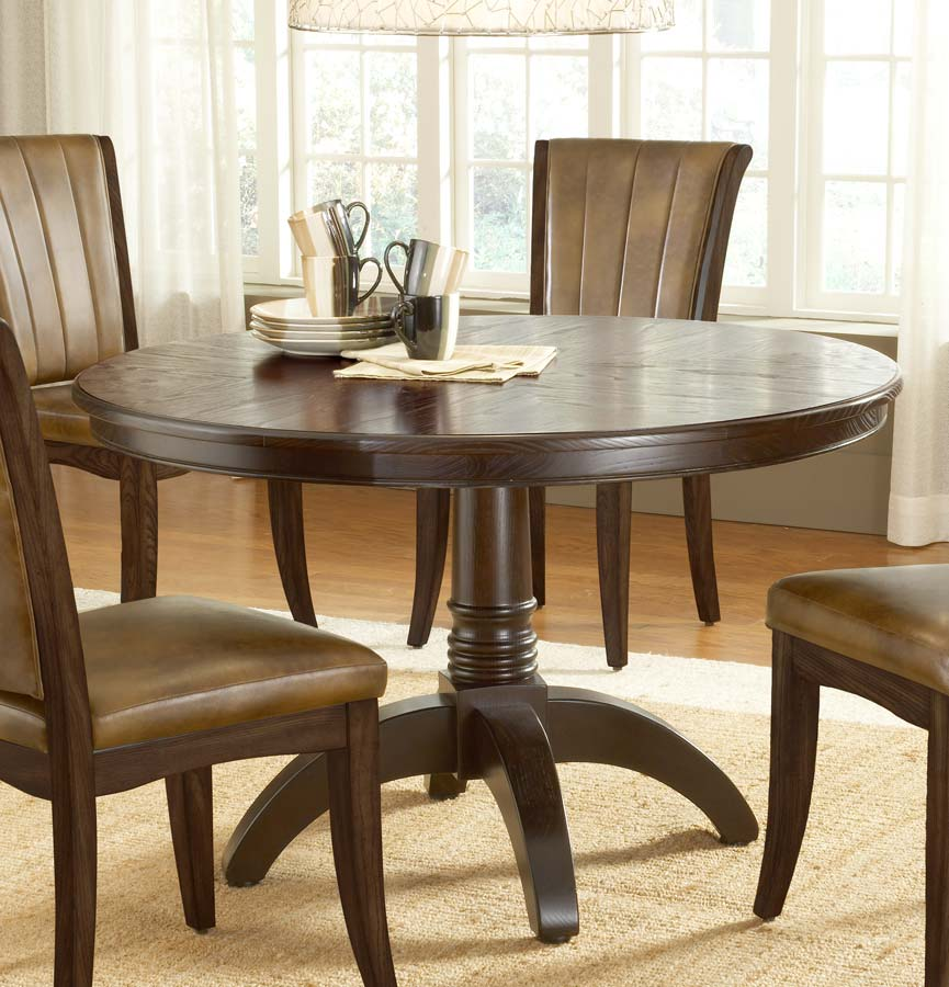 Hillsdale Grand Bay Round Dining Table Cherry 4379DTB