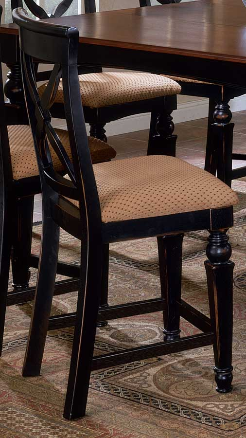 Hillsdale Northern Heights Non-swivel Wood Counter Stools
