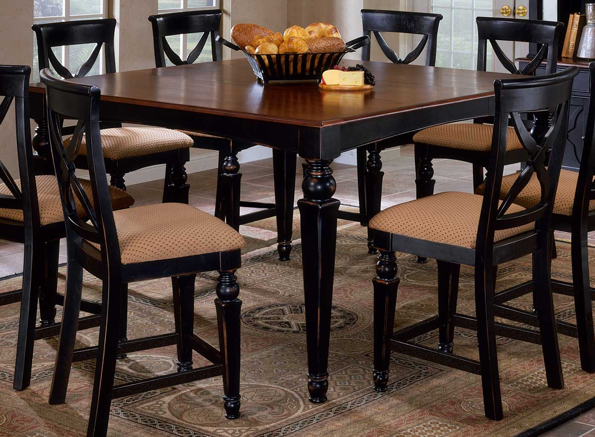 Hillsdale northern heights counter height dining table for What size dining table for 10x12 room