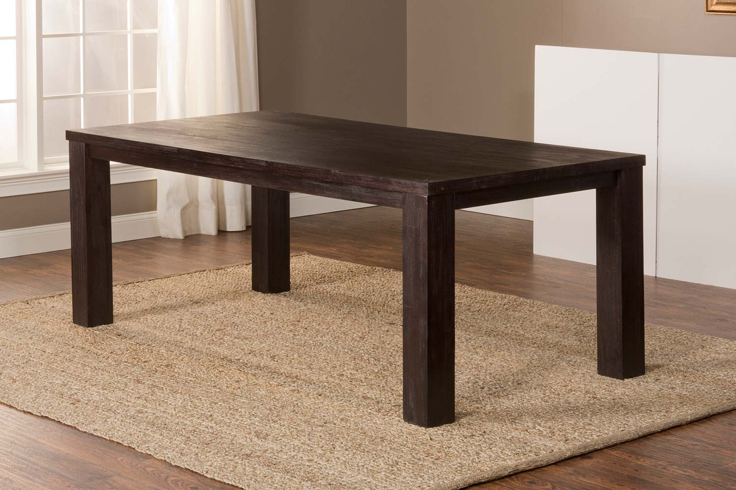 Hillsdale Simply Sydney Dining Table - Smoke Brown