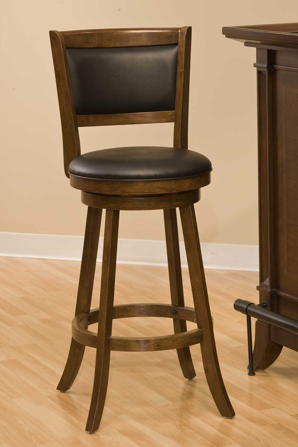 Hillsdale Dennery Swivel Counter Stool Cherry 4472 826