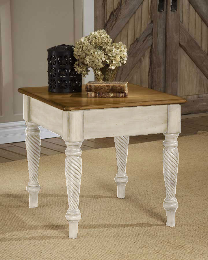 Hillsdale Wilshire End Table - Antique White
