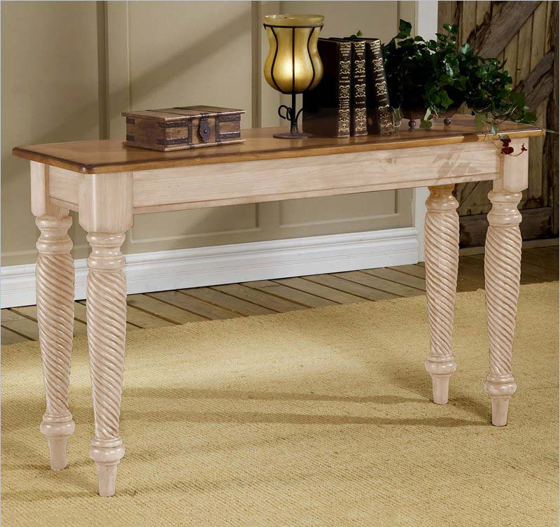 Hillsdale Wilshire Sofa Table Antique White 4508 883