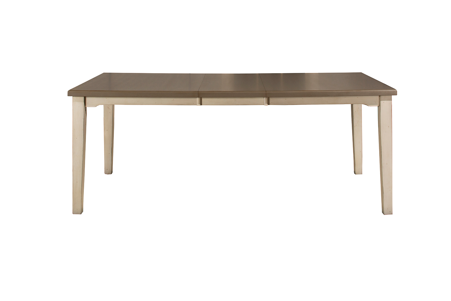 Hillsdale Clarion Rectangle Dining Table - Gray/White