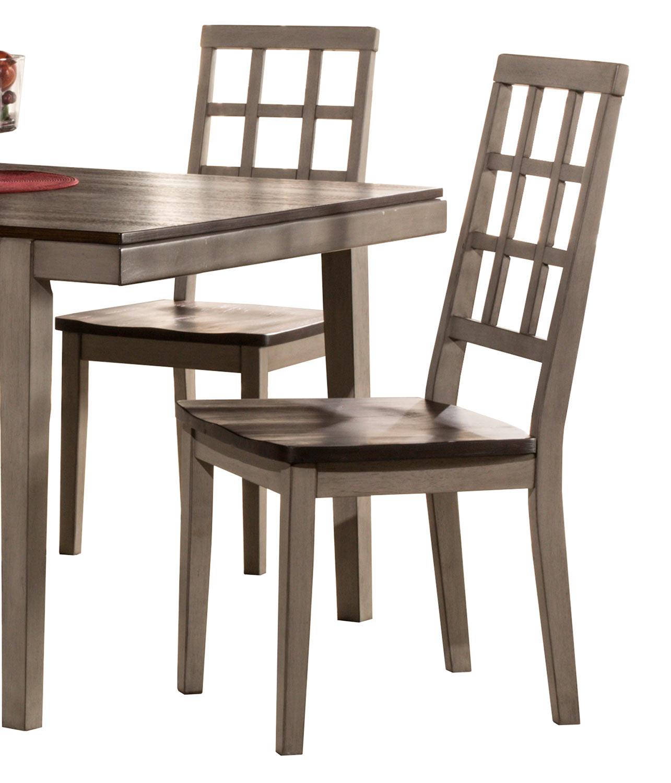 Hillsdale Garden Park Dining Chair - Gray/Espresso